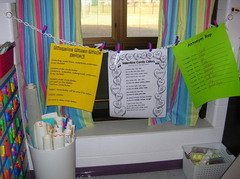Haning Posters In Classroom For