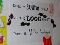 Sound Look Poster By ReadingResource.net