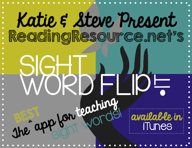 Sight Word Flip It by Reading Resource.net